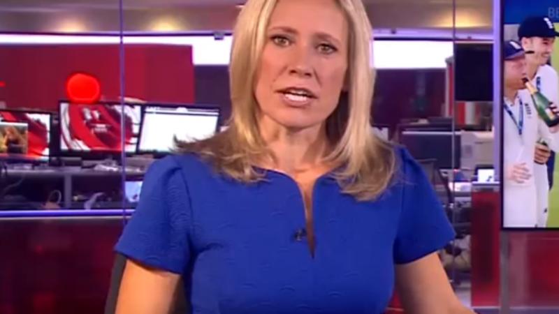 Transmissão do noticiário da BBC