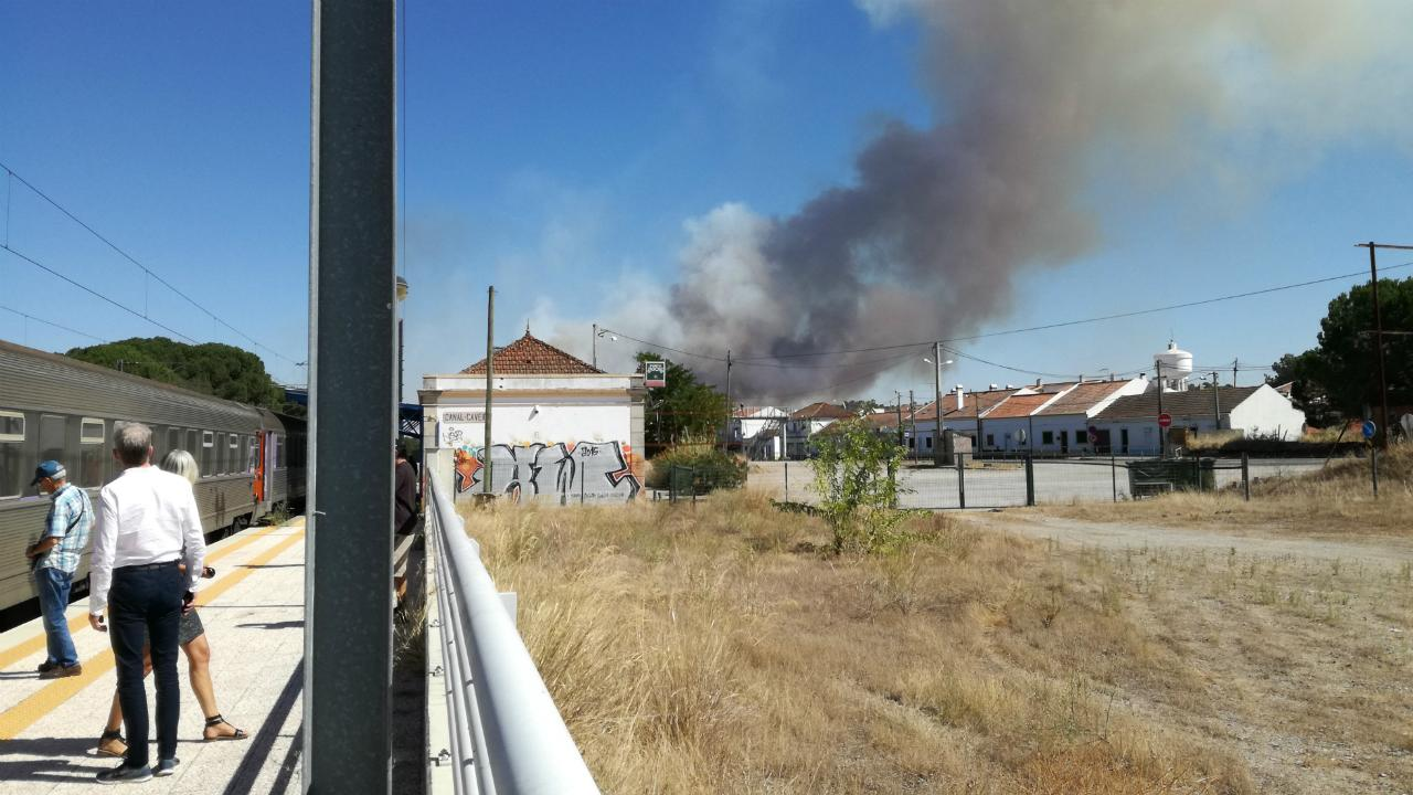 Incêndio em Grândola