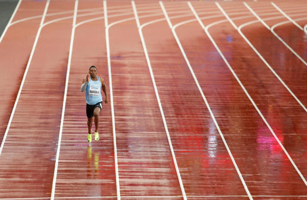 Este foi o atleta que correu sozinho nos Mundiais de Atletismo