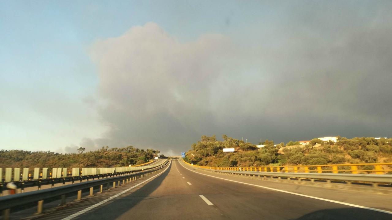 A23 - zona de Torres Novas, a caminho de Abrantes