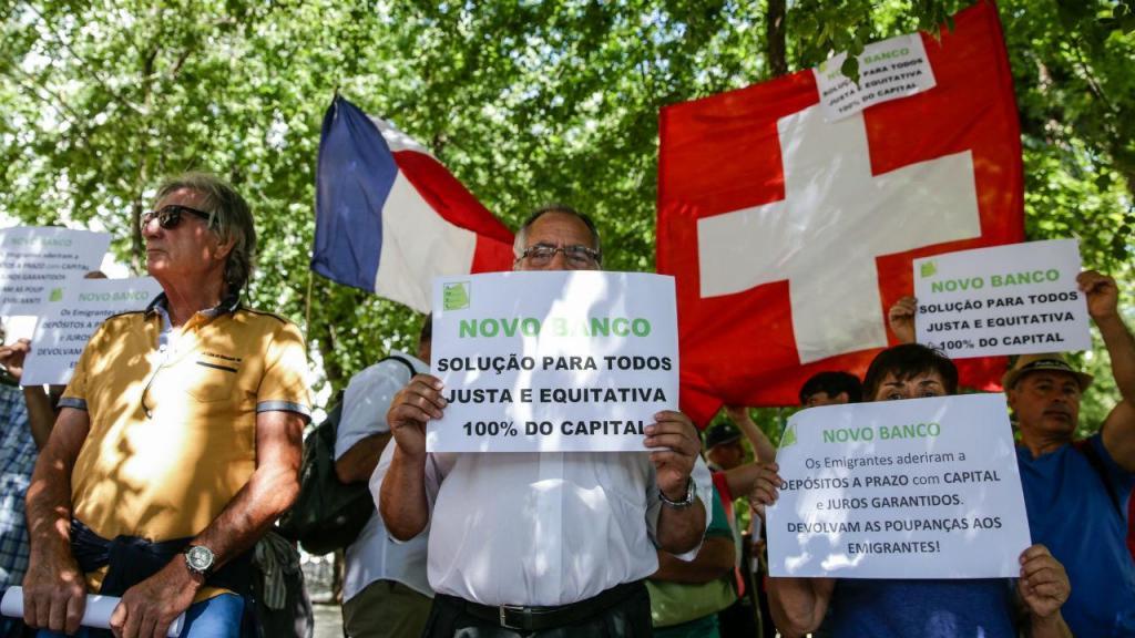 Protesto de lesados do BES