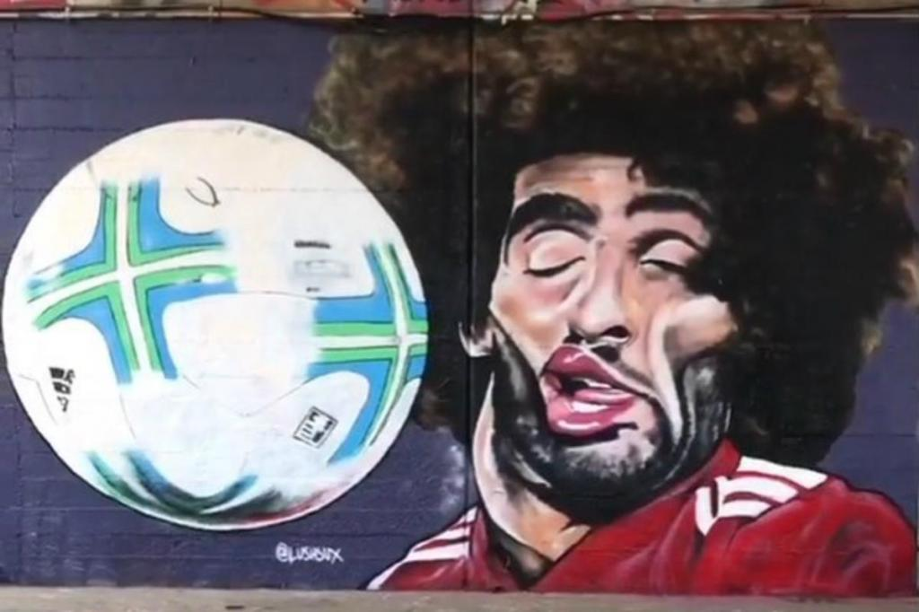 Graffiti de Fellaini