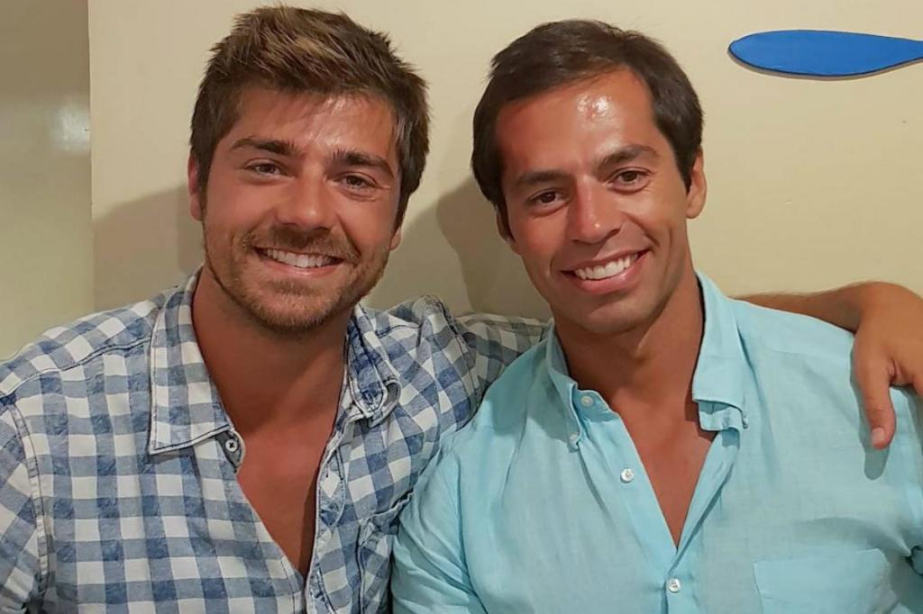 Lourenço Ortigão e o irmão