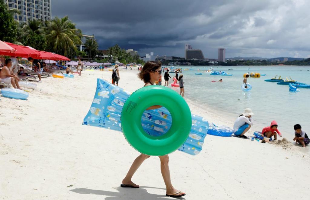 Guam prossegue a vida alheia à tensão entre a Coreia do Norte e os EUA