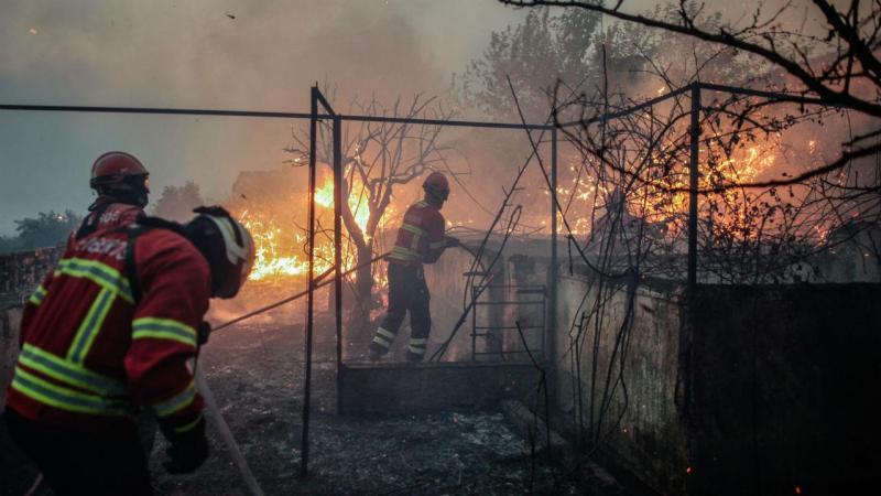 Incêndio em Abrantes