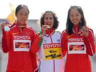 Inês Henriques conquista o ouro nos Mundiais de Atletismo (Reuters)