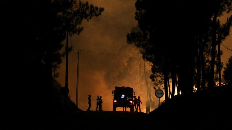 Incêndio em Vila de Rei