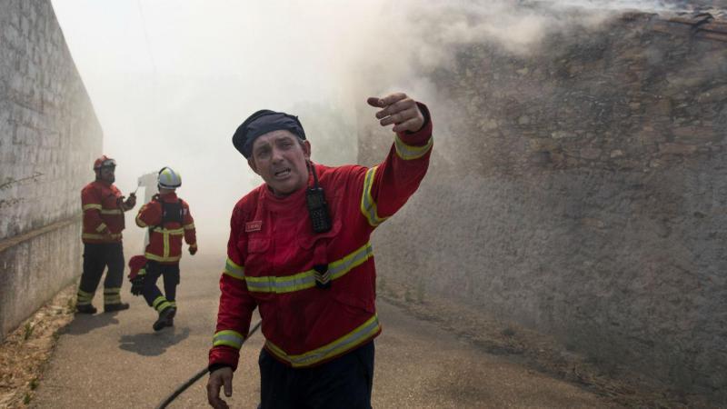 Quatro fogos preocupantes, sobretudo em Porto de Mós