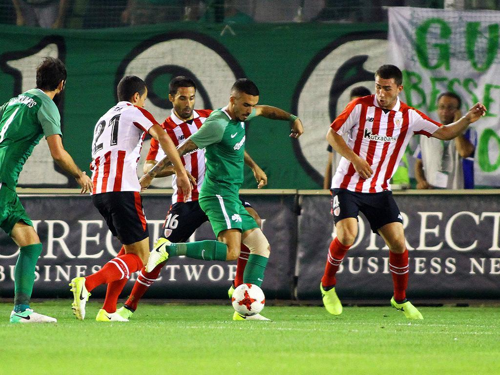 Panathinaikos-Athletic Bilbao (Lusa)