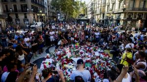 Pelas vítimas do terror
