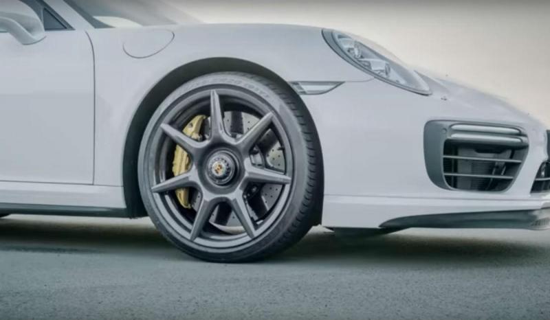 Jantes Porsche em fibra de carbono