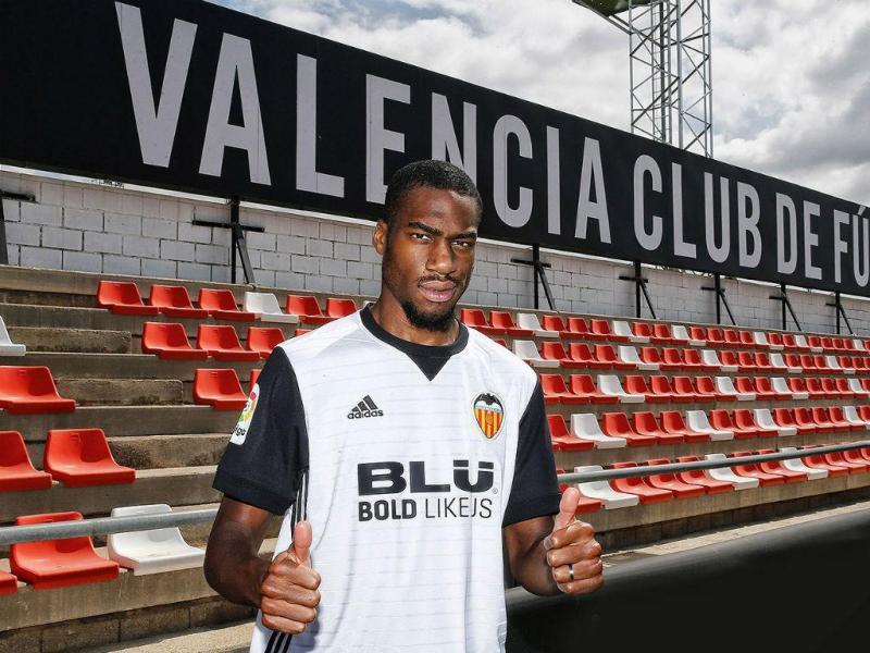 Geoffrey Kondogbia no Valencia (foto Valencia)