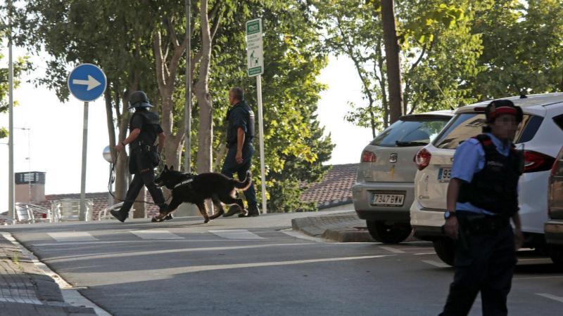 Operação da polícia catalã