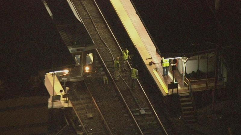 Choque de comboios em Filadélfia