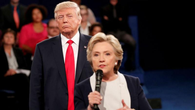 Debate entre Donald Trump e Hillary Clinton
