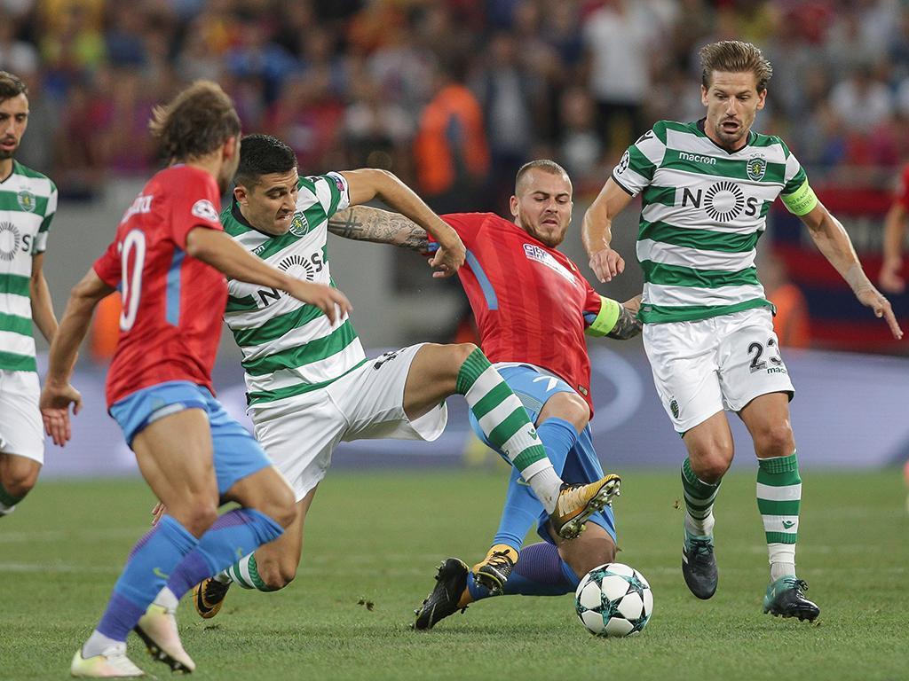 Steaua-Sporting (Reuters)
