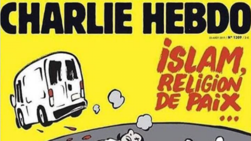 Capa do jornal satírico francês Charlie Hebdo gera polémica