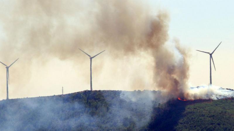 Incêndio em Oleiros, Castelo Branco