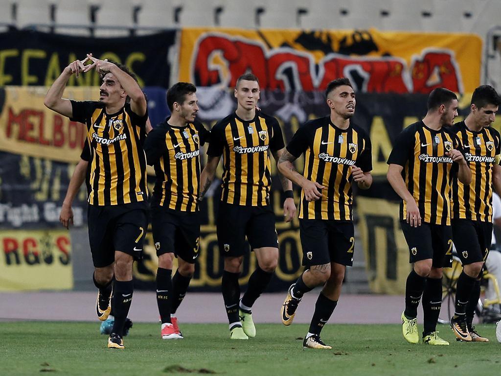 AEK-Club Brugge (Reuters)