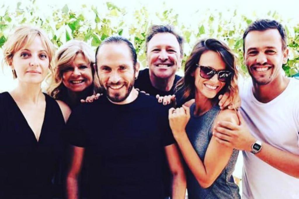 Sandra Faleiro, Sérgio Praia, Helena Isabel, Fernando Luís, Núria Madruga e Pedro Teixeira