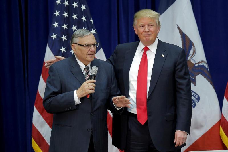 Joe Arpaio e Donald Trump