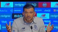 Sérgio Conceição comenta castigo aplicado ao árbitro Jorge Sousa