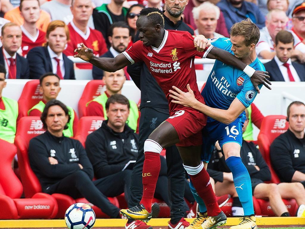 Liverpool-Arsenal (Lusa)