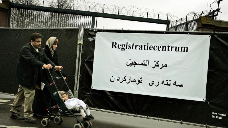 Centro de registo de refugiados - Holanda