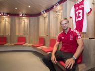 Siem de Jong regressou ao Ajax