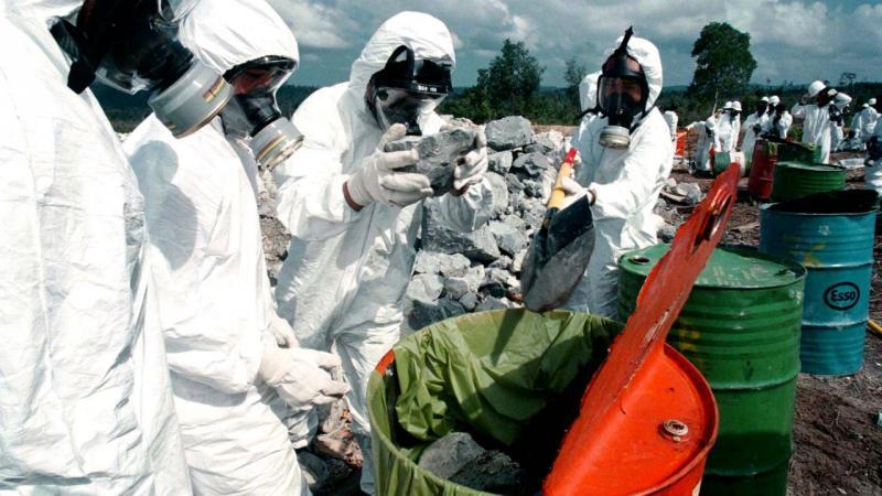 Contaminação com mercúrio