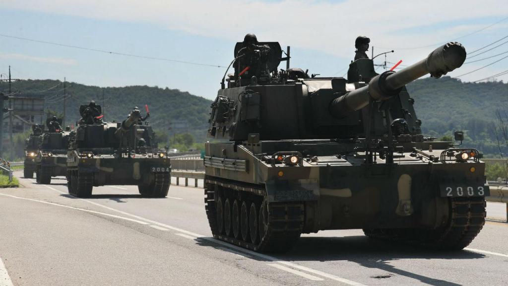 Exercício militar da Coreia do Sul