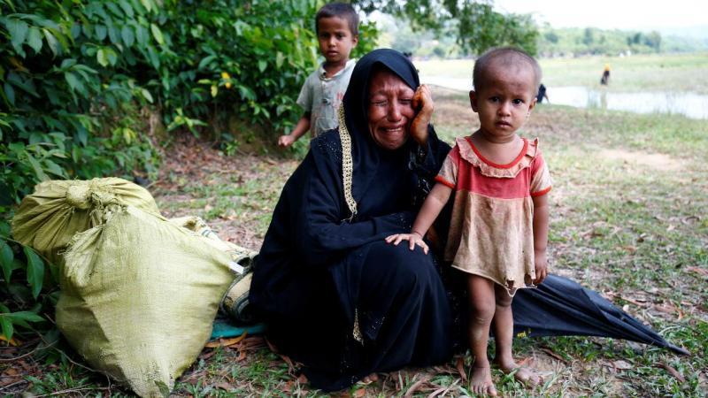Fuga da minoria rohingya para o Bangladesh