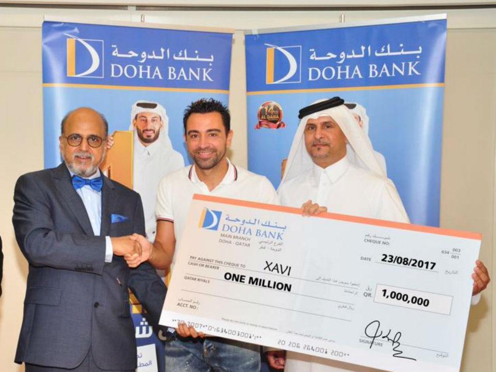 Xavi ganhou a «lotaria» no Qatar