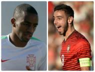 Ricardo Pereira e Bruno Fernandes na Seleção (montagem)