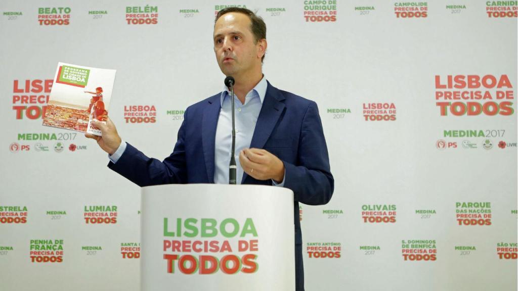 Fernando Medina apresenta programa eleitoral para as Autárquicas