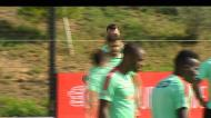 Seleção: Ricardo Pereira já treinou, Adrien ainda limitado