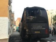Incendiaram autocarro da Aquable Sport