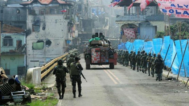 Exército filipino em Marawi