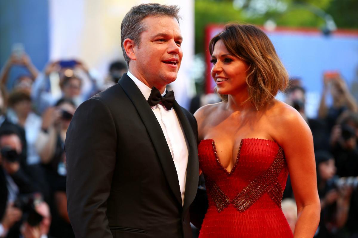 Matt Damon no Festival de Cinema em Itália