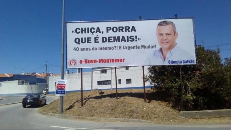 Candidato Olímpio Galvão quer mudança urgente para Montemor-o-Novo