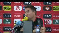 Rui Jorge explica ausência de pontas de lança nos sub-21