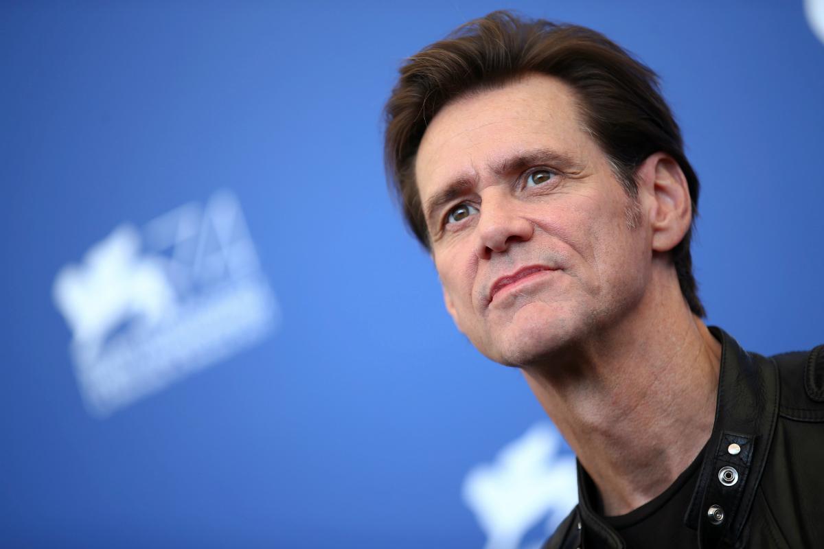 Jim Carrey reapareceu... e deu que falar