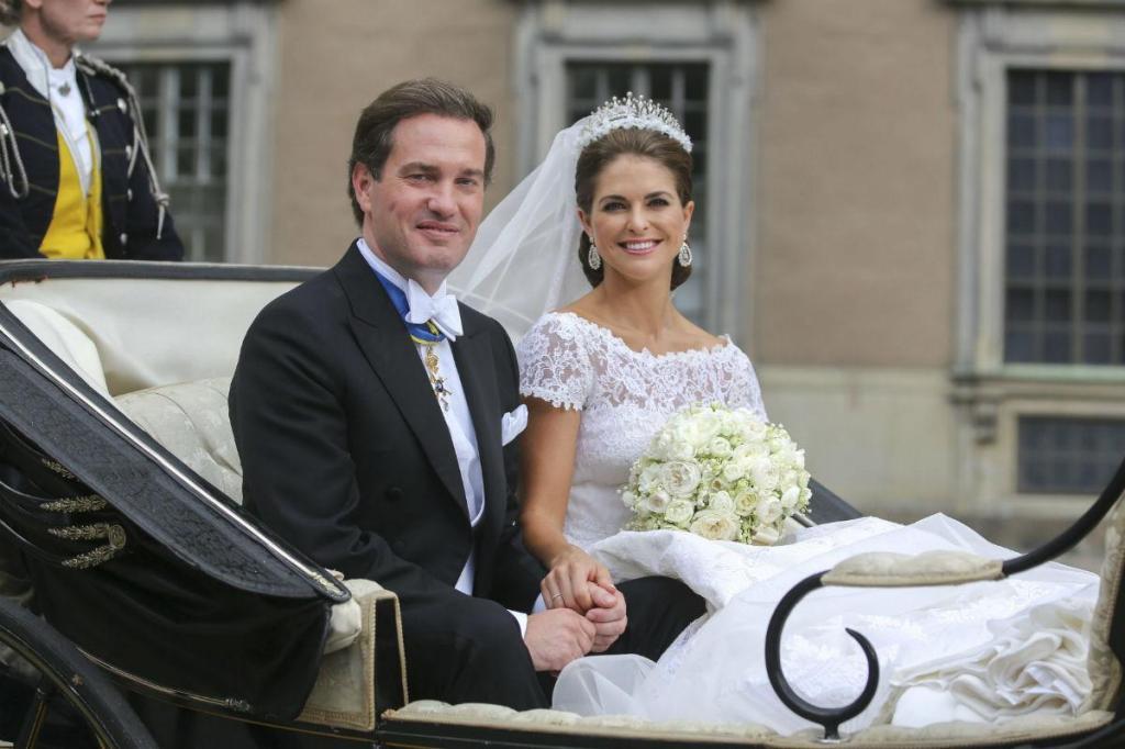 Princesa Madalena e Christopher O'Neill