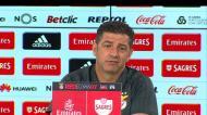 «Seferovic com Gabigol? Não há jogadores incompatíveis»