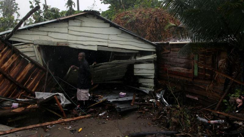 Passagem do Irma pela República Dominicana