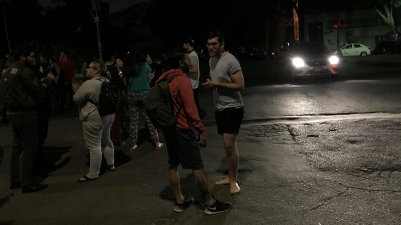 Sismo no México