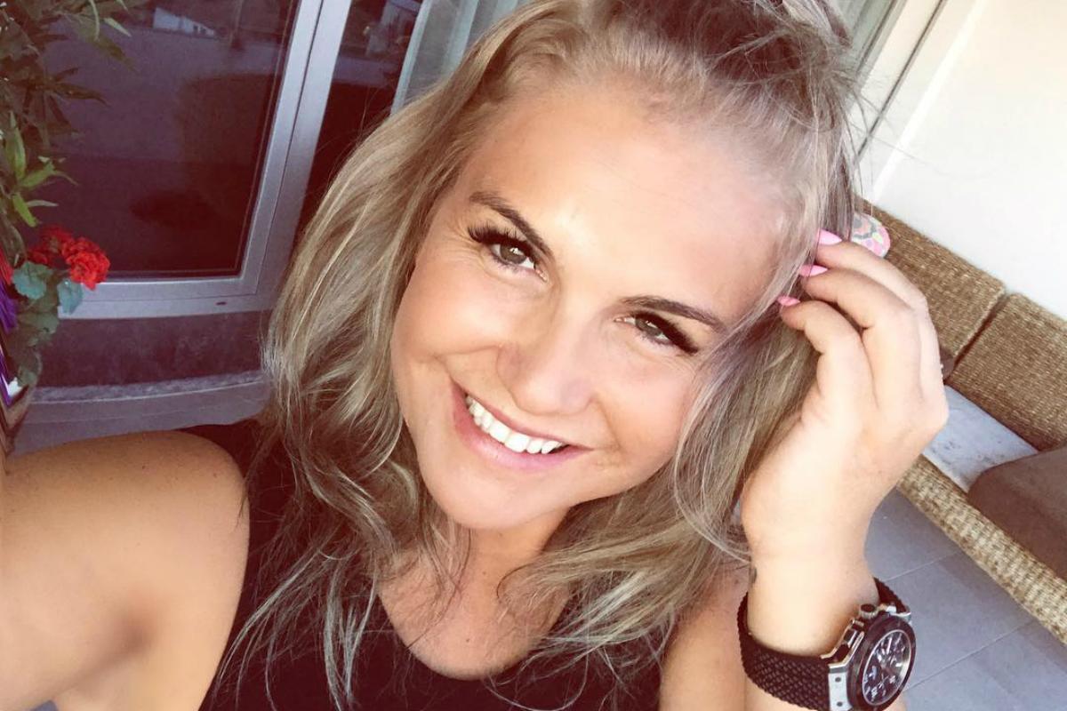 Katia Aveiro na Selfie