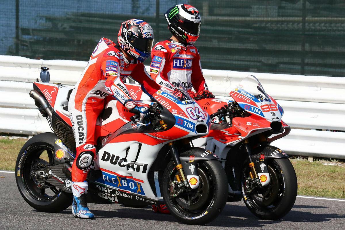 Jorge Lorenzo e Andrea Dovizioso - São Marino