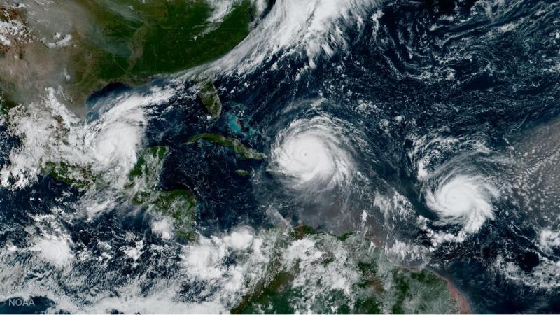 Furacões Irma, Jose e Katia