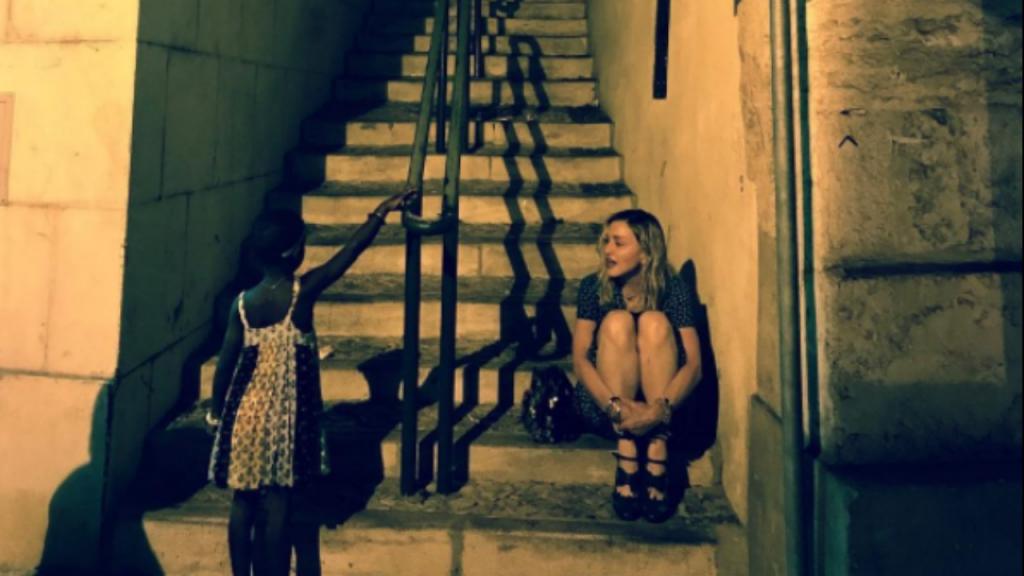 Fotografia publicada por Madonna em Lisboa